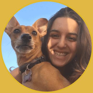 סלפי עם כלב