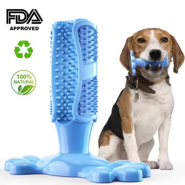 גומי כלב ללעוס צעצועי כלב מברשת שיניים שיניים ניקוי צעצוע כלב מחמד מברשות שיניים צחצוח מקל אספקת גור פופולרי צעצועים