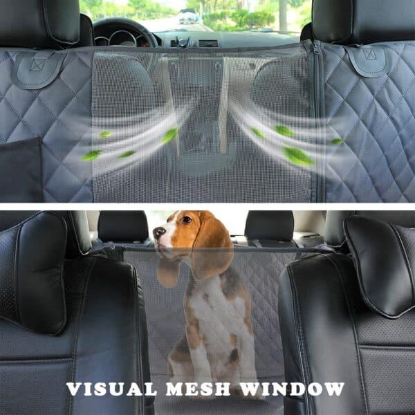 Prodigen כלב רכב מושב כיסוי עמיד למים תחבורה לחיות מחמד כלב Carrier רכב מושב אחורי מגן מחצלת רכב ערסל לכלבים גדולים קטנים